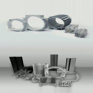 تولیدکننده مقاطع آلومینیومی سایز سفارشی | انواع مقاطع آلومینیومی
