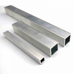 تولیدکننده ارزانترین لولههای آلومینیومی مربع سبکوزن   انواع لوله آلومینیومی