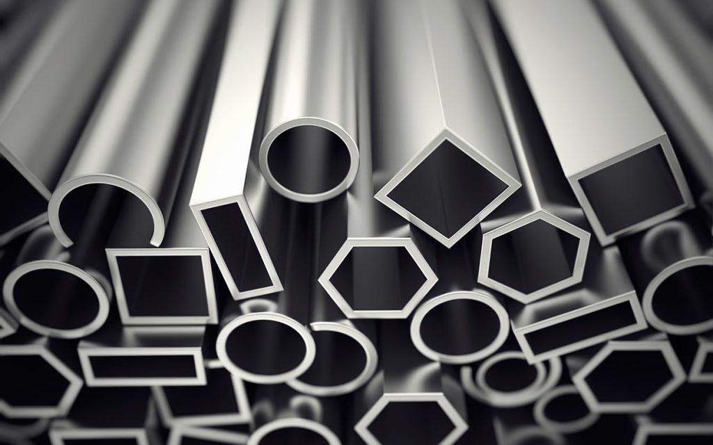 تولید کننده آلومینیوم چهارپهلو در اندازه های ۷۰*۷۰ و ۷۵*۷۵