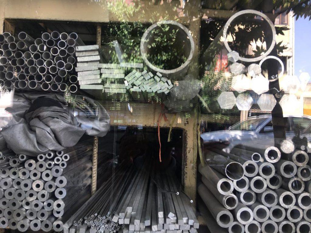 فروشگاه میلگرد آلومینیوم در اندازه های مختلف ۴۰ الی ۴۶